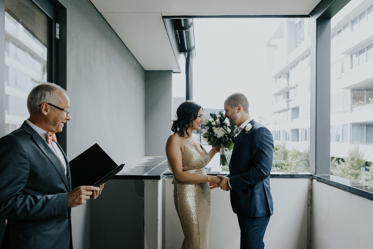 Oumaya and Jonathan's Intimate Canberra Wedding / Burbury Hotel and Boathouse