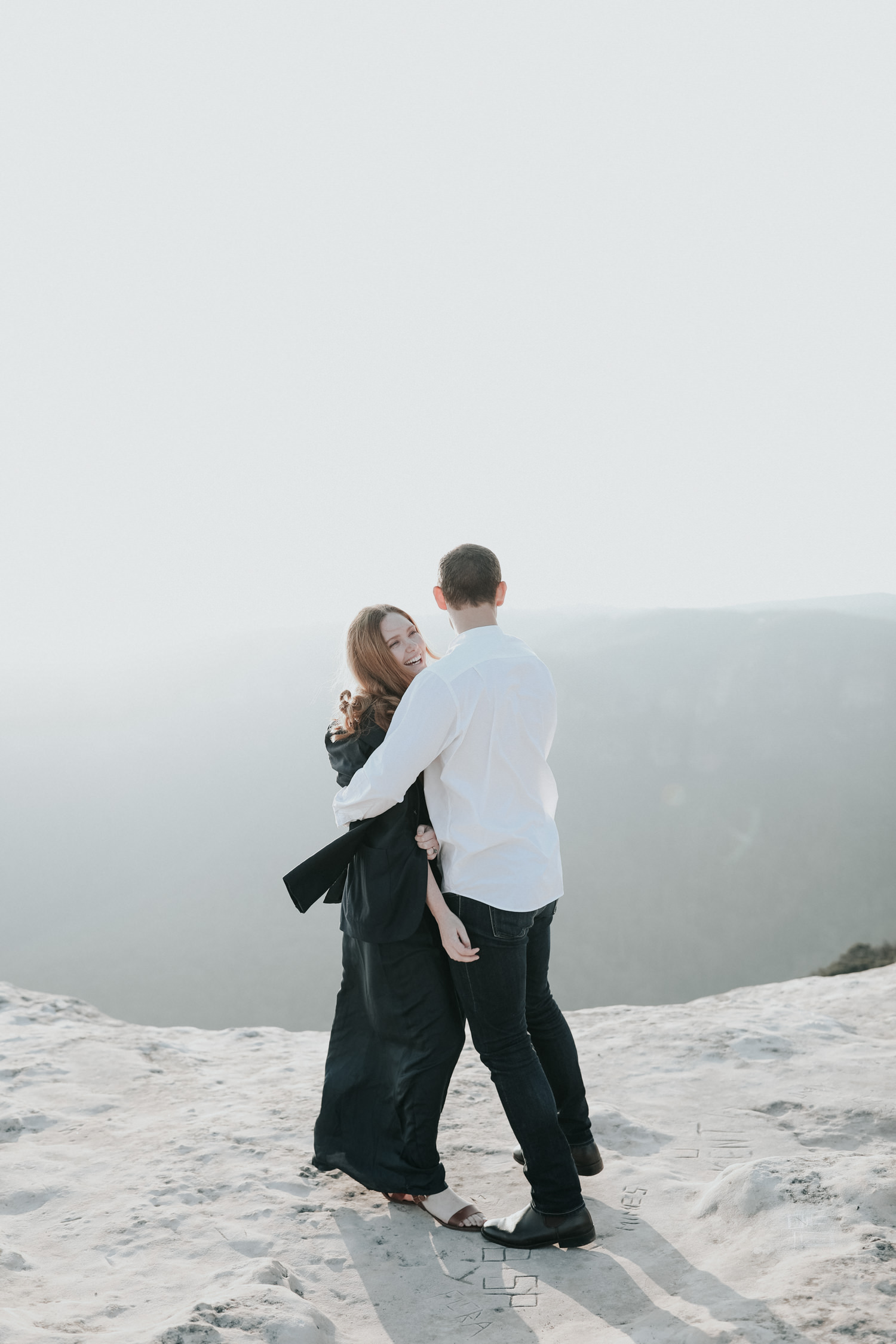 Blue Mountains Sunset Session- Lincoln Rock- Jenny Wu Canberra Wedding Photographer
