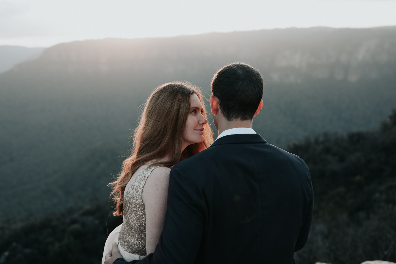 Blue Moutains Sunset Shoot- Elopement and Wedding Photography Jenny Wu Canberra