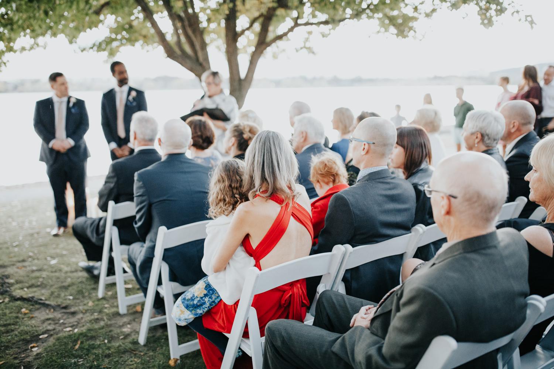 The Boathouse Wedding Ceremony Canberra - Photography Jenny Wu Straight No Chaser