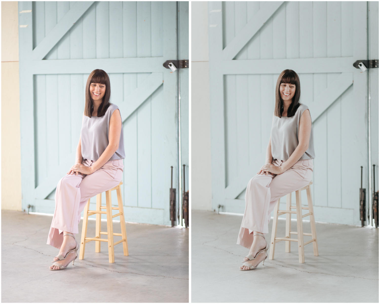 Blush Lightroom and Photoshop Preset- Fashion, Travel, Blogging