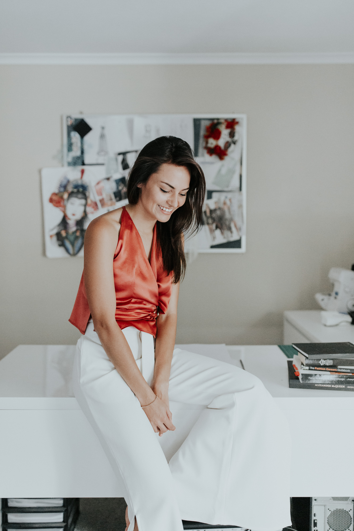 Lifestyle headshots- Designer of Maak Clothing  Charne Esterhuizen / Jenny Wu Photography Canberra