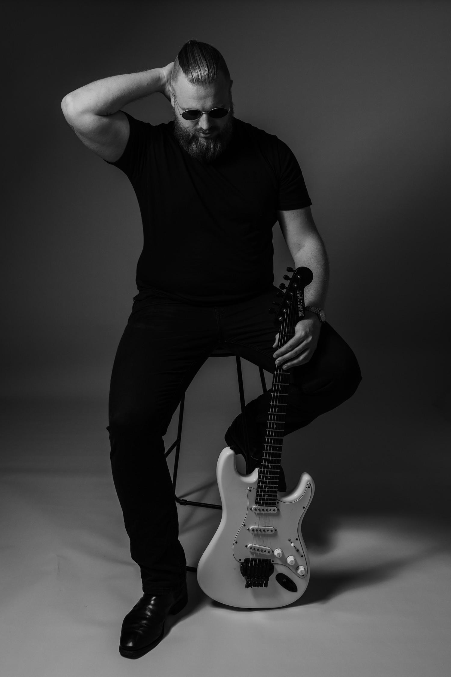 Creative Musician Headshots Jenny Wu Photography Canberra