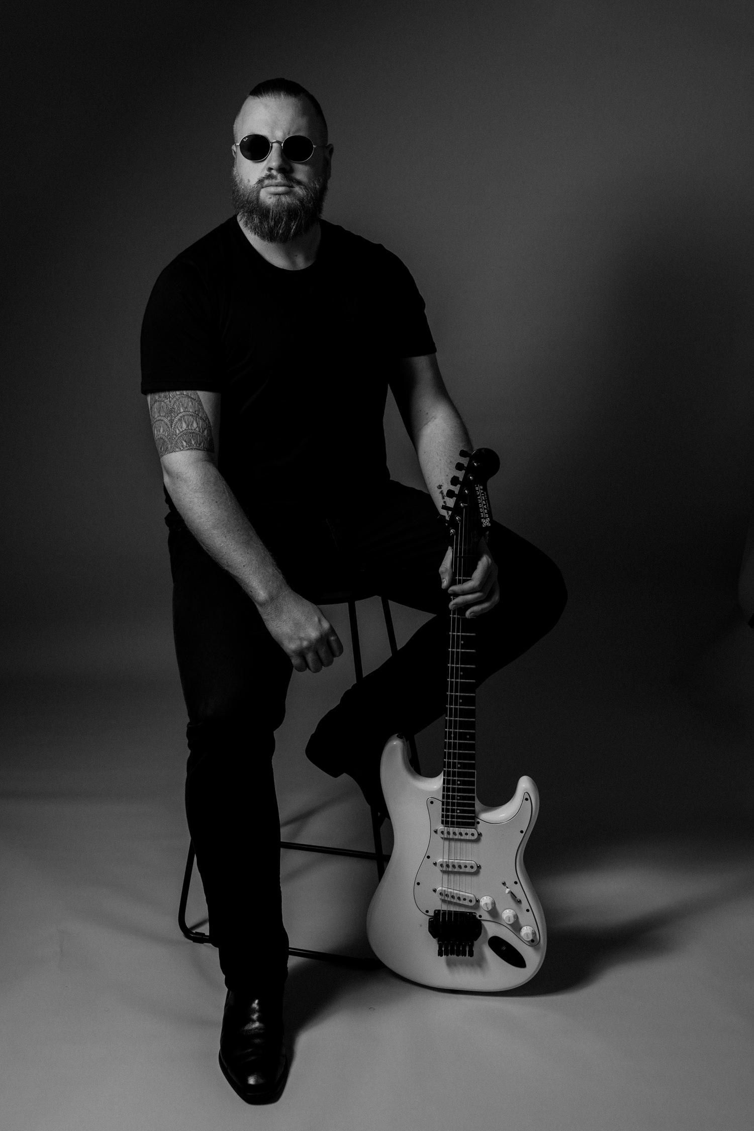 Musician headshots Canberra Jazz Jenny Wu Photography