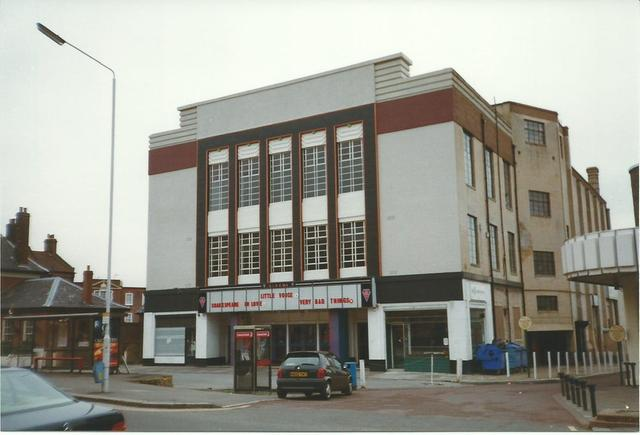 South Woodford Odeon where I saw Inspector Gadget and other atrocities.