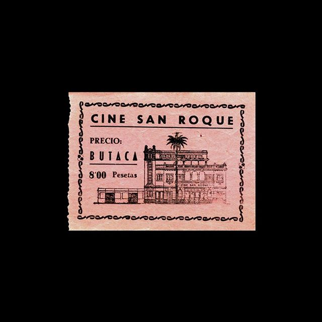 — 🎟 Cine San Roque 📍 Las Palmas, Spain 🎥 — 🗓 ~1960s