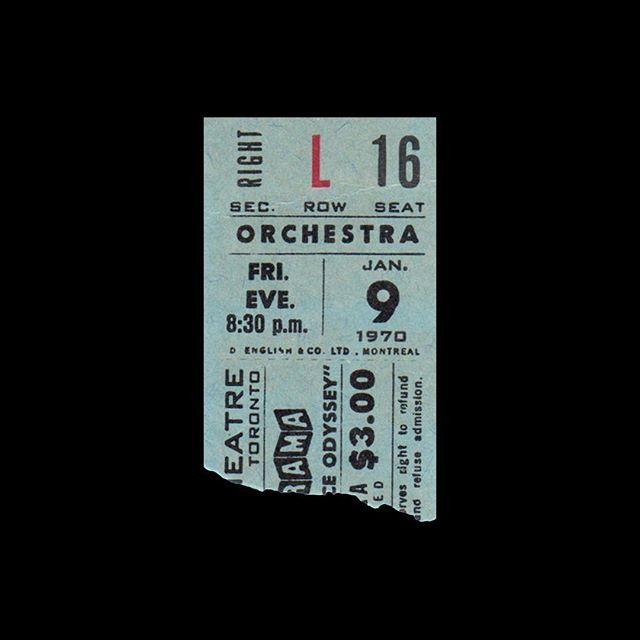 — 🎟 Cinerama 📍 Toronto, Canada 🎥 2001: A Space Odyssey 🗓 1970
