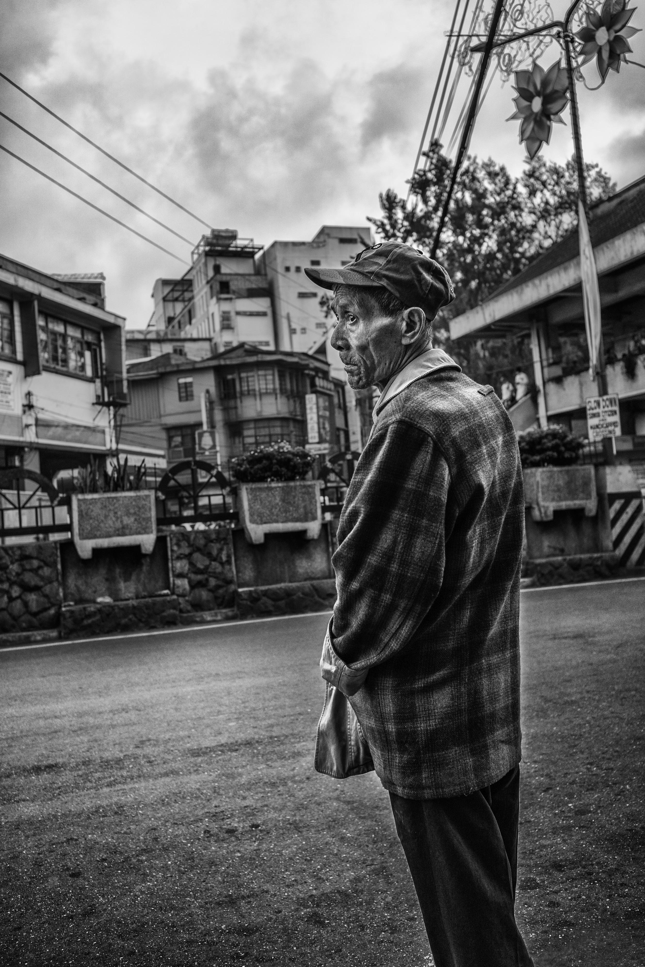 Drunk man at Baguio