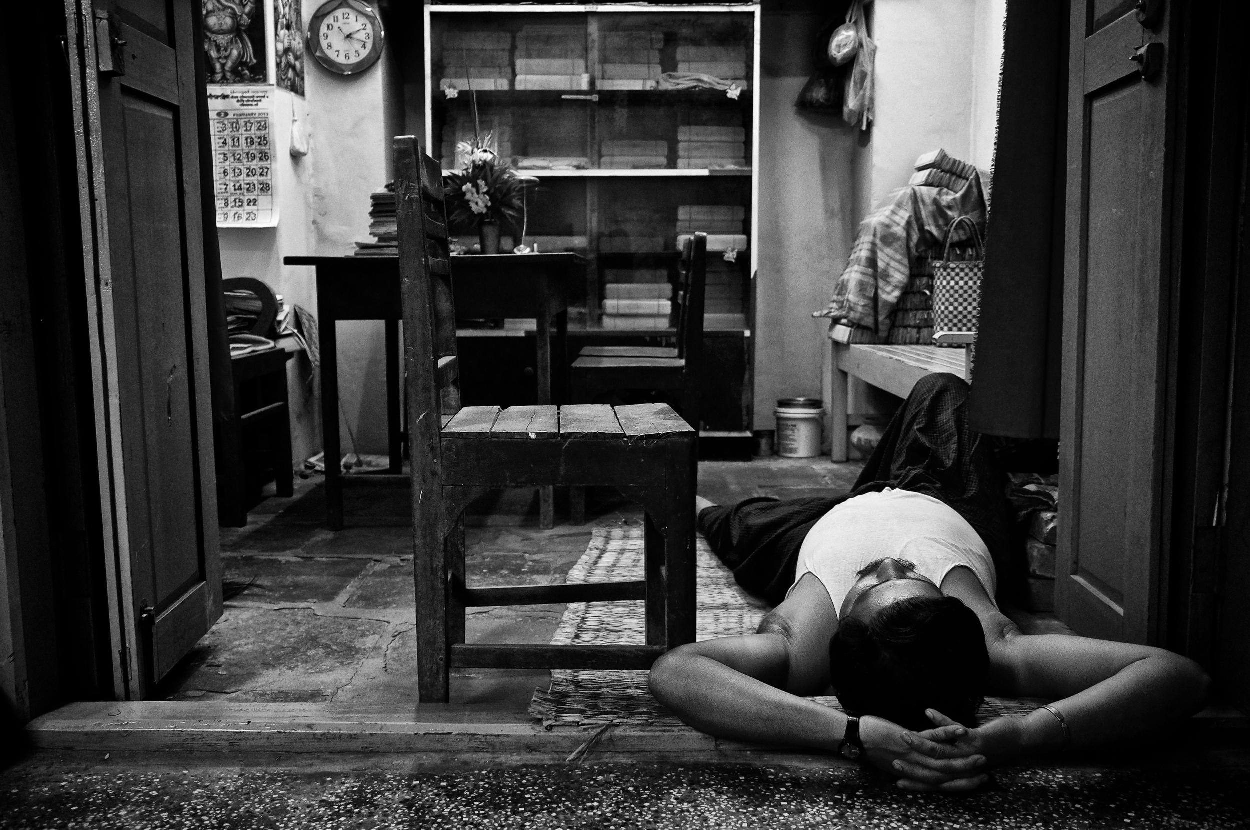 Sleeping in the floor.jpg