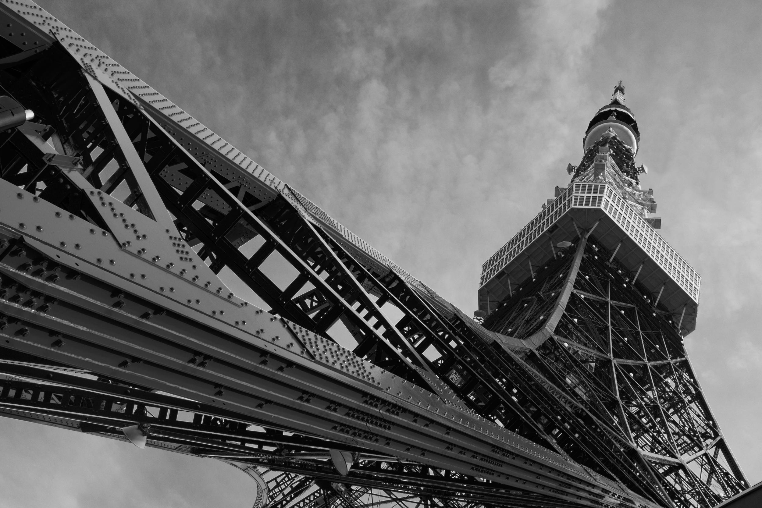 Tokyo Tower B&W.jpg