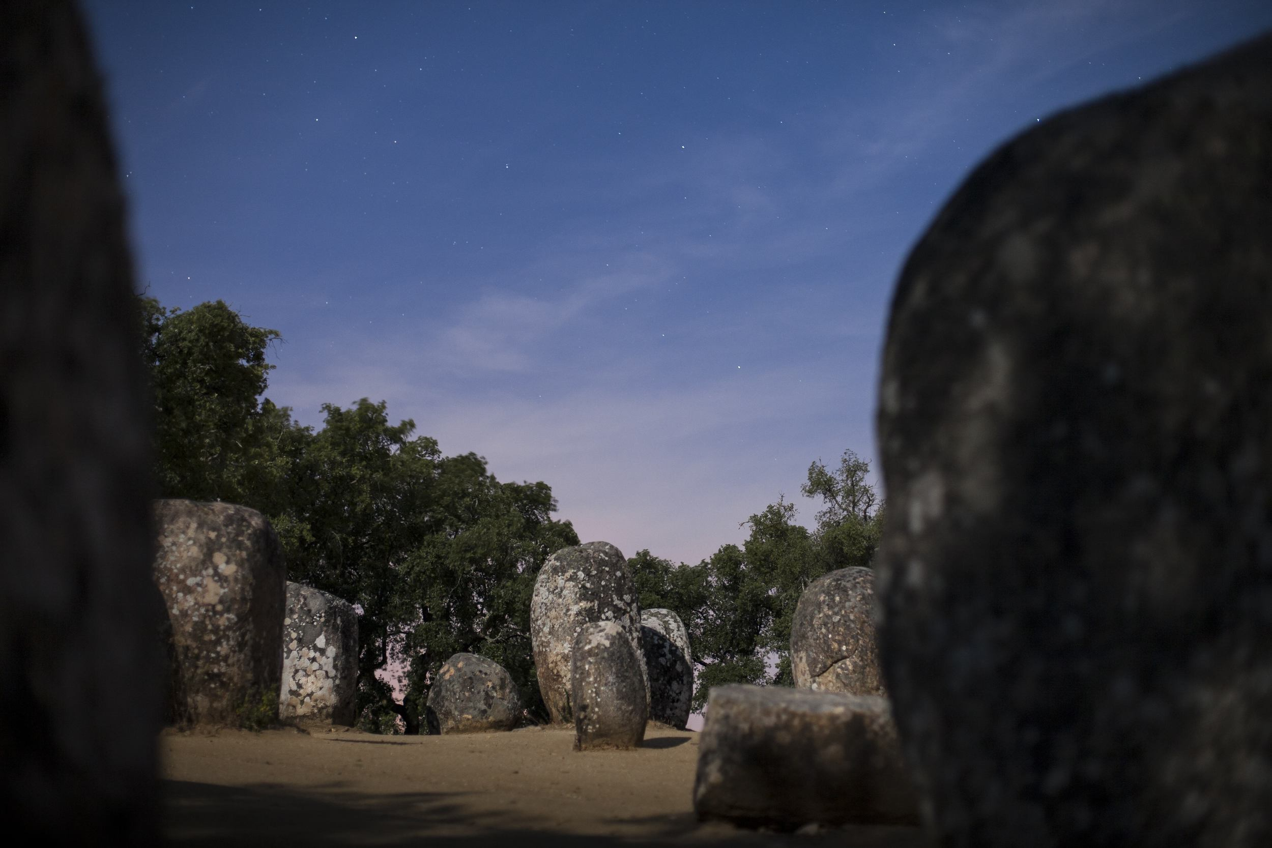 Cromeleque dos Almendres IV - Évora