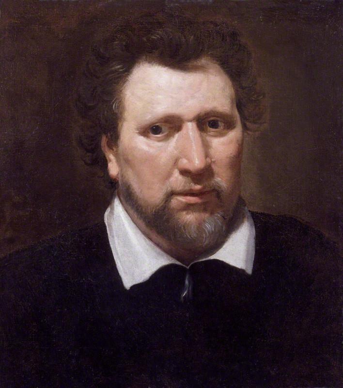 Portrait of Ben Johnson by Abraham van Blyenberch, c.1617, National Portrait Gallery, London. Source:  https://en.wikipedia.org/wiki/Ben_Jonson#/media/File:Benjamin_Jonson_by_Abraham_van_Blyenberch.jpg