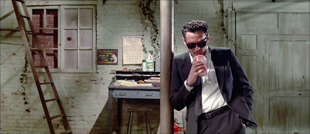 Film still from   Reservoir Dogs  (Quentin Tarantino, 1992). Source:  http://film-grab.com/2013/11/18/reservoir-dogs/