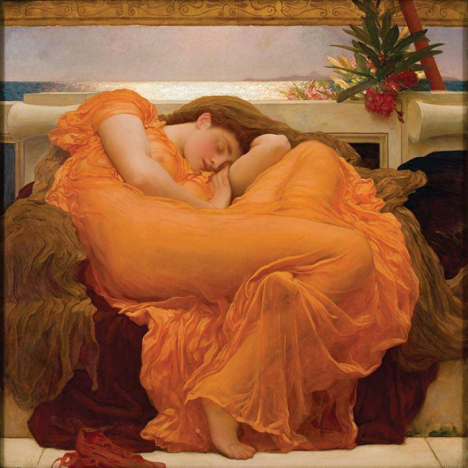 'Flaming June', Lord Frederic Leighton (1895)