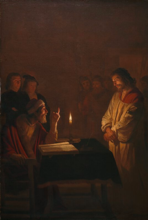 'Christ before the High Priest' by Honthorst sourced from The National Gallery, https://www.nationalgallery.org.uk/server.iip?FIF=/fronts/N-3679-00-000032-WZ-PYR.tif&CNT=1.0&WID=800&HEI=800&QLT=85&CVT=jpeg
