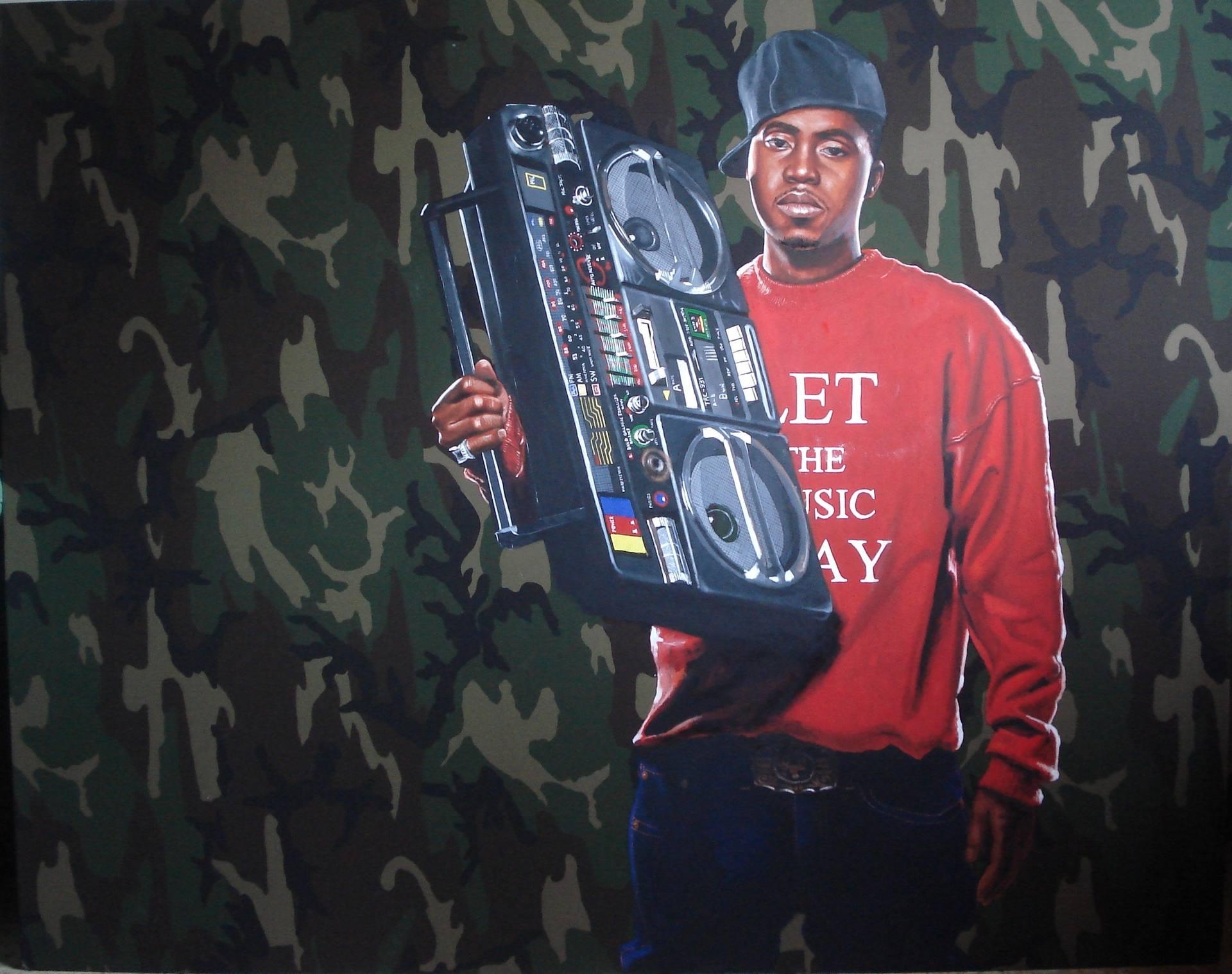 'art 69', Oil on Canvas
