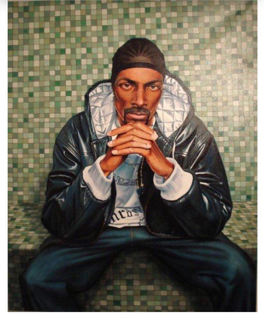 'Snoop Dogg', Oil on Canvas