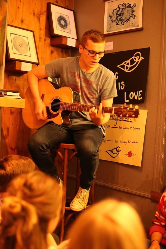Photo of Casper Sanderson by Music is Love