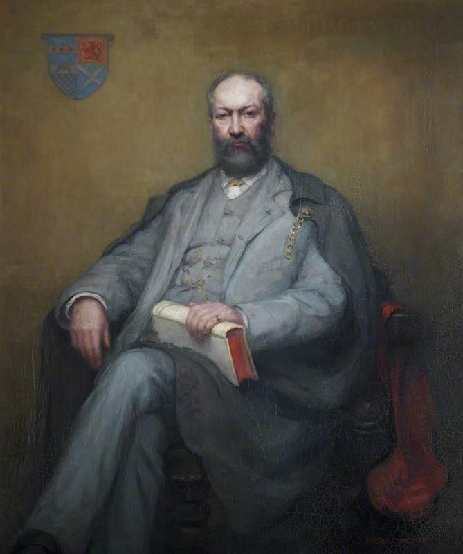 Portrait of Professor William Angus Knight