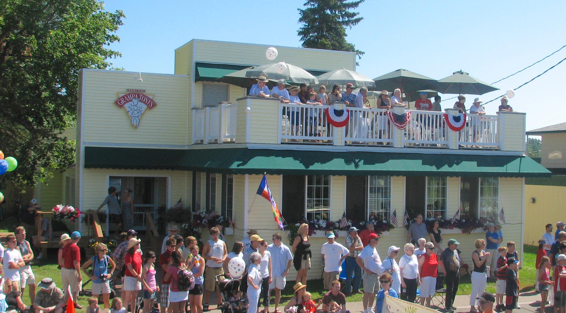 Grampa Tony's Restaurant on Madeline Island