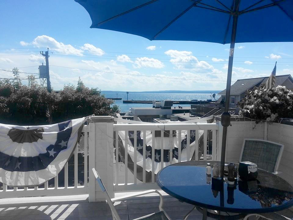 Or take in the lake view from our upstairs deck!