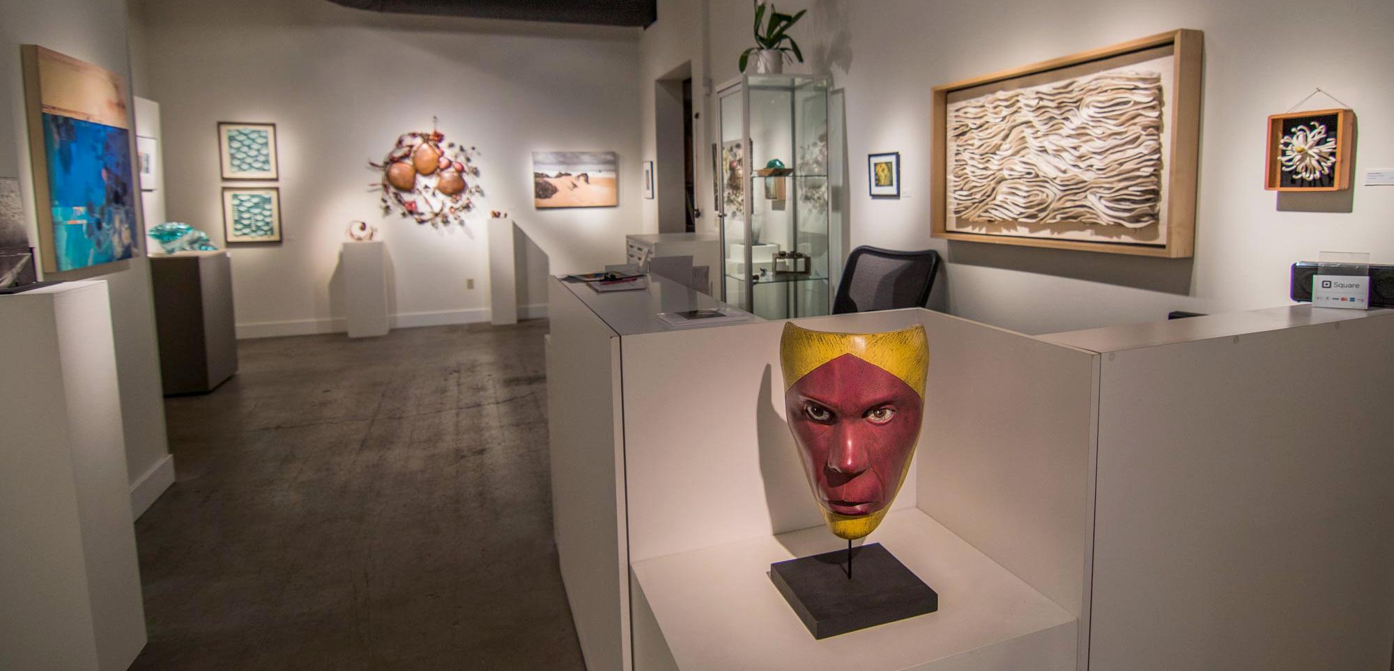 Waterstone Gallery, Portland, OR. December 2016. Photo, Kamala Dolphin-Kingsley