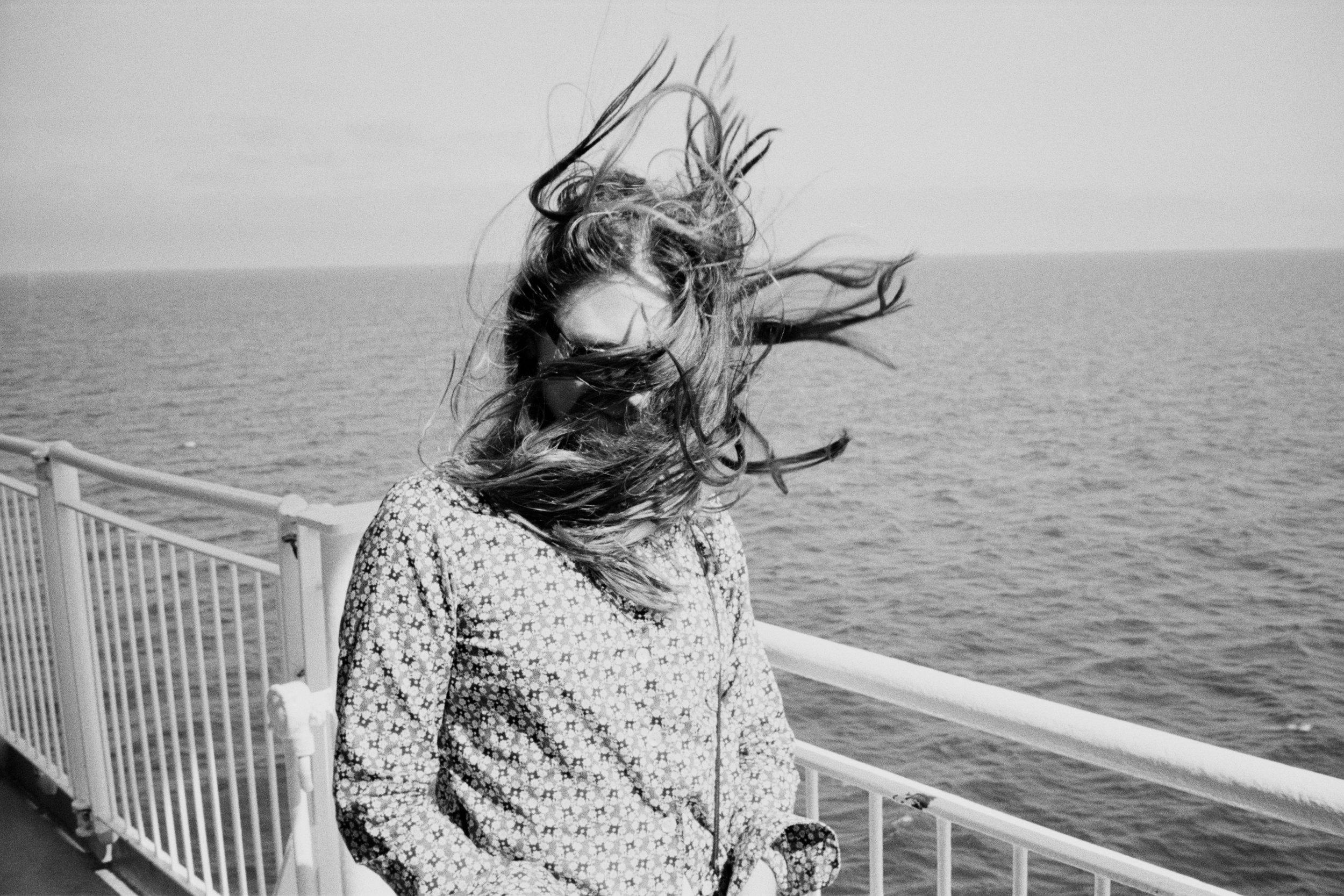 Girl On Boat - 2015