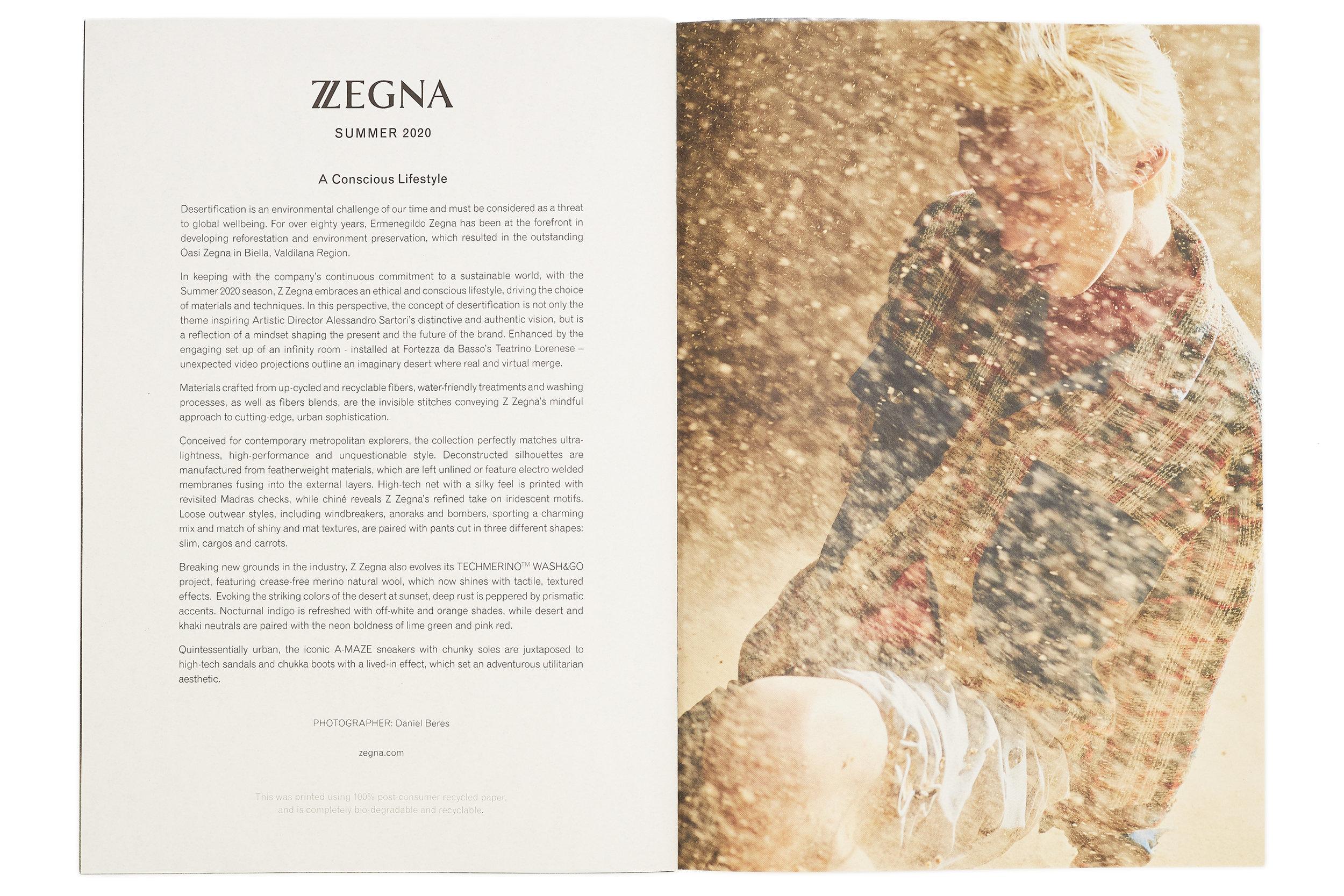 Z ZEGNA - SPRING/SUMMER 20