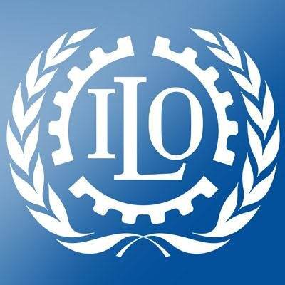 The emblem of the International Labour Organization.   Courtesy: @ilo on Twitter