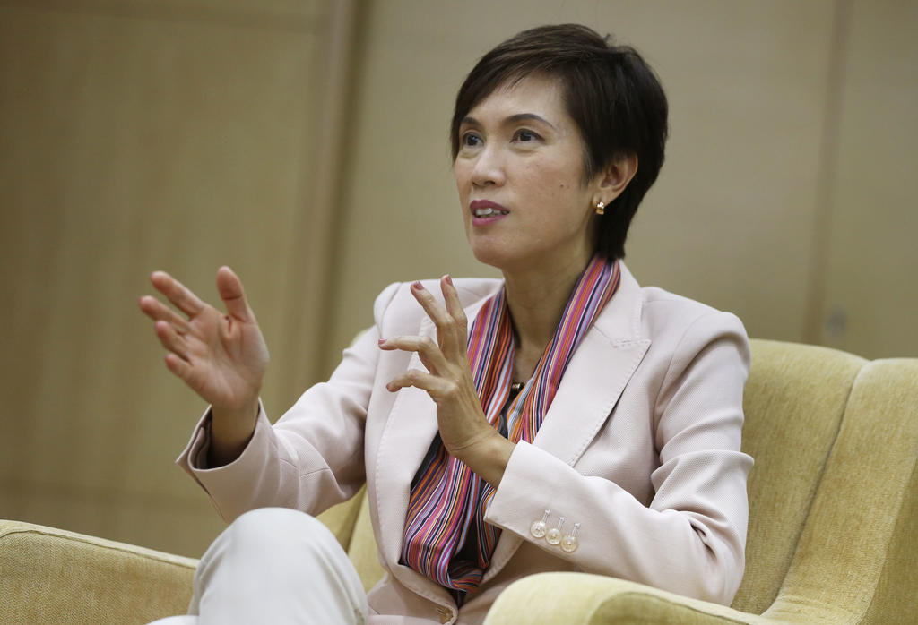 Singapore Manpower Minister Josephine Teo.  Courtesy: TODAY online