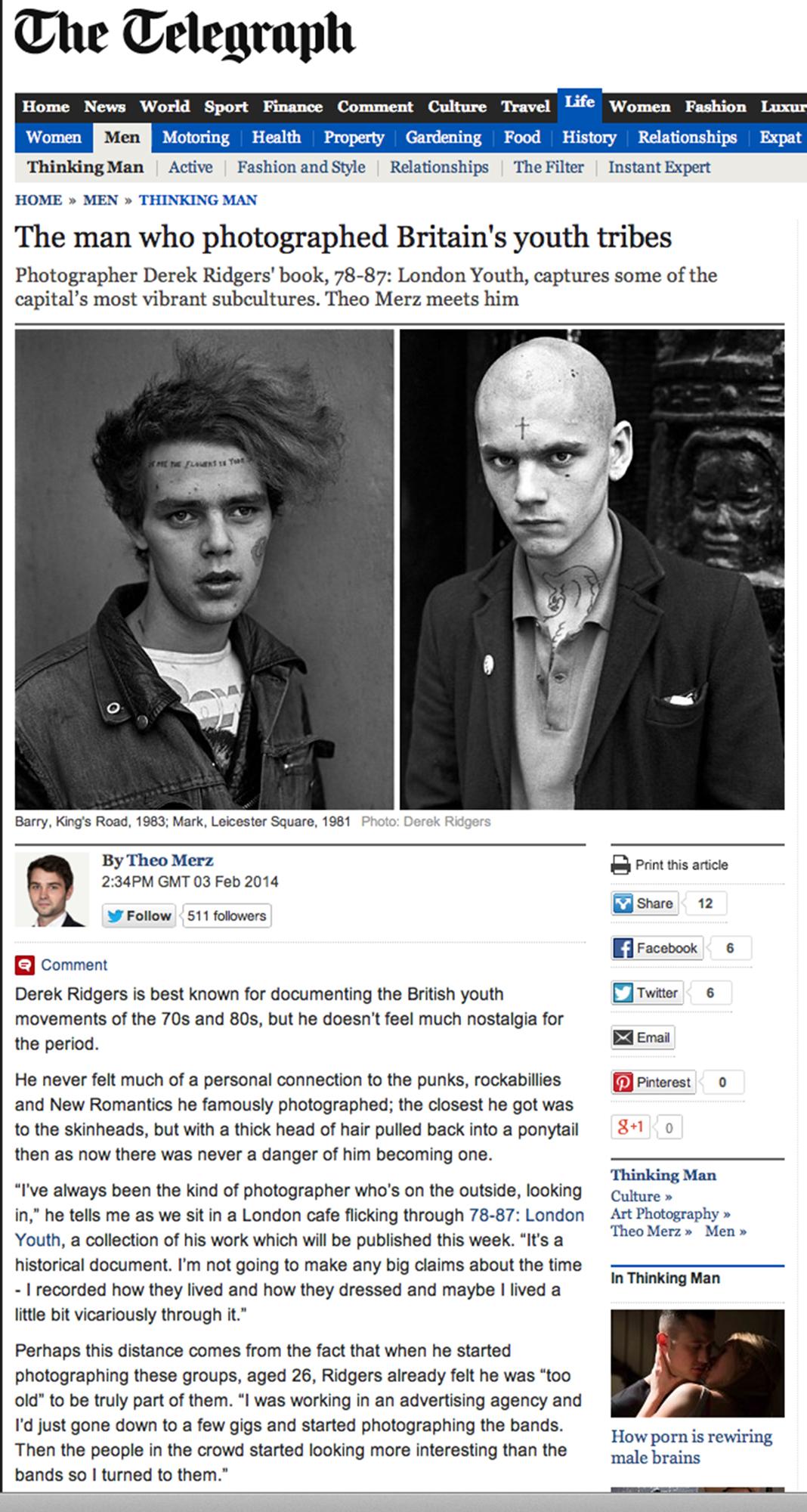 The Telegraph, 2014