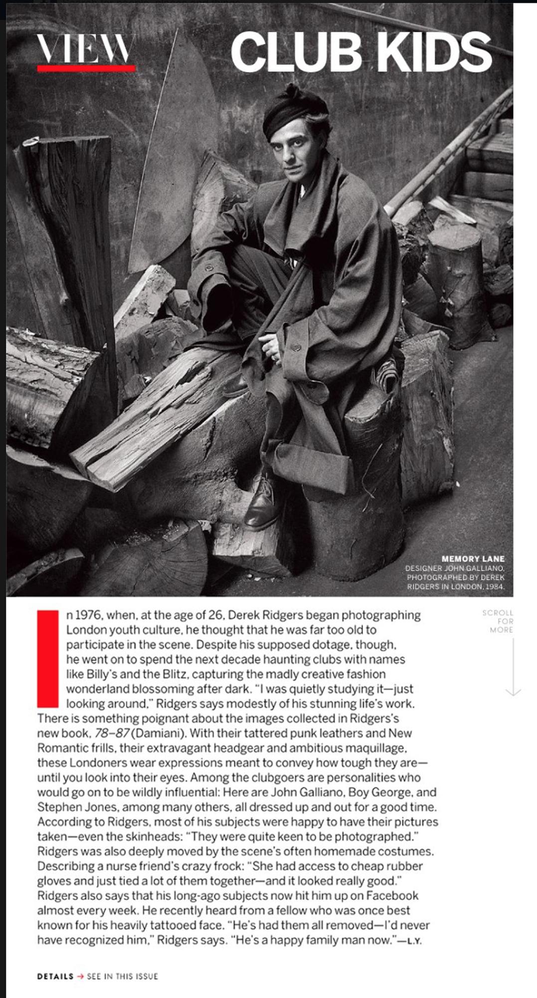 US Vogue 2014.