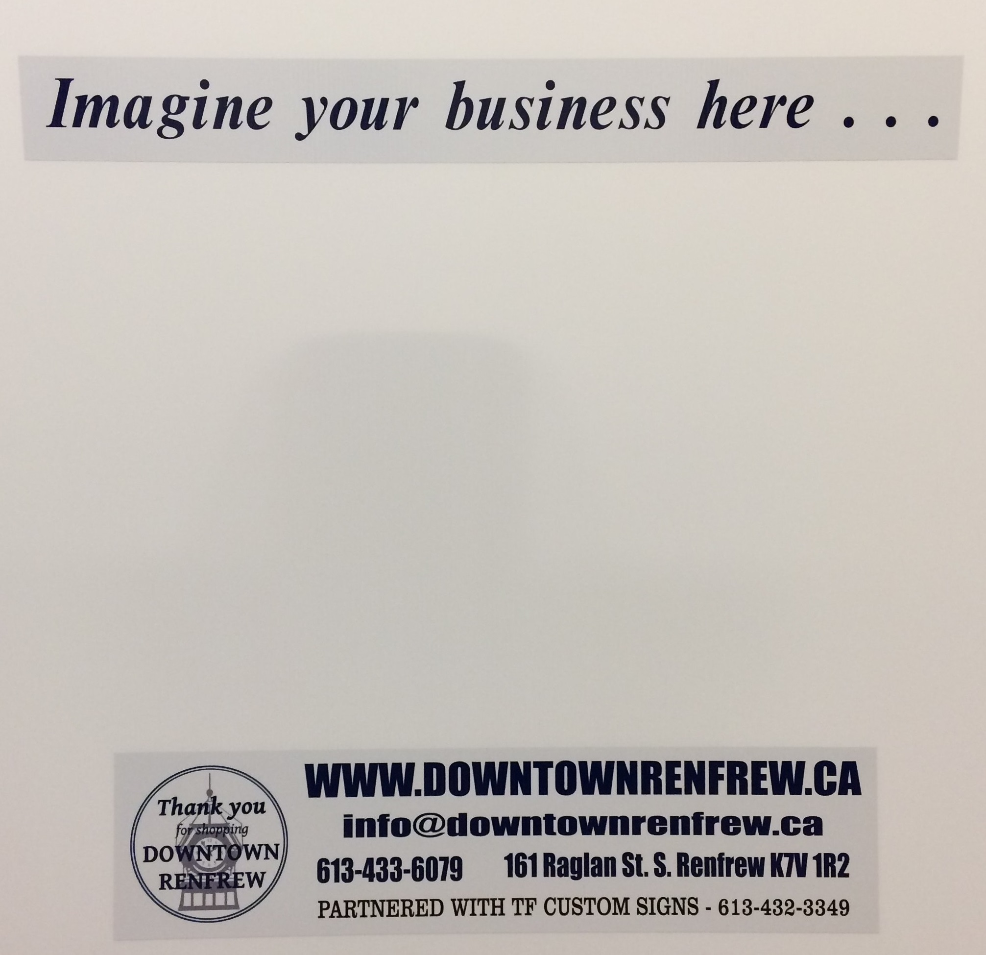 To learn more about Downtown Renfrew or about the Lease/Rent listings call 613-433-6079 or e-mail info@downtownrenfrew.ca