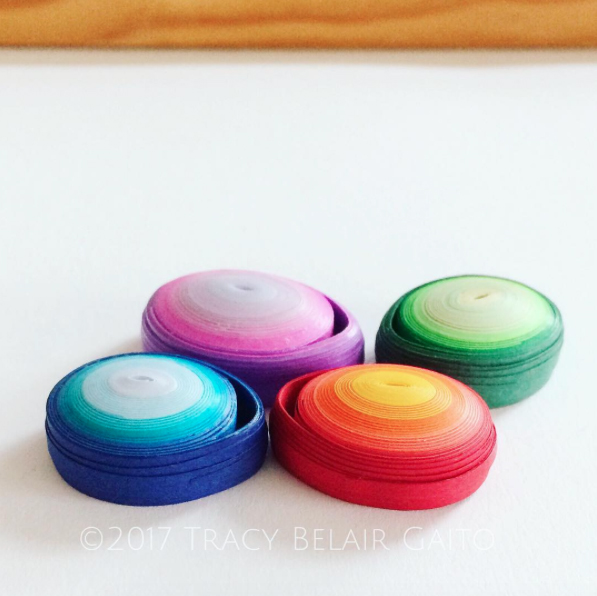 runnerbean paper art | worry stone pendants | tracy belair gaito