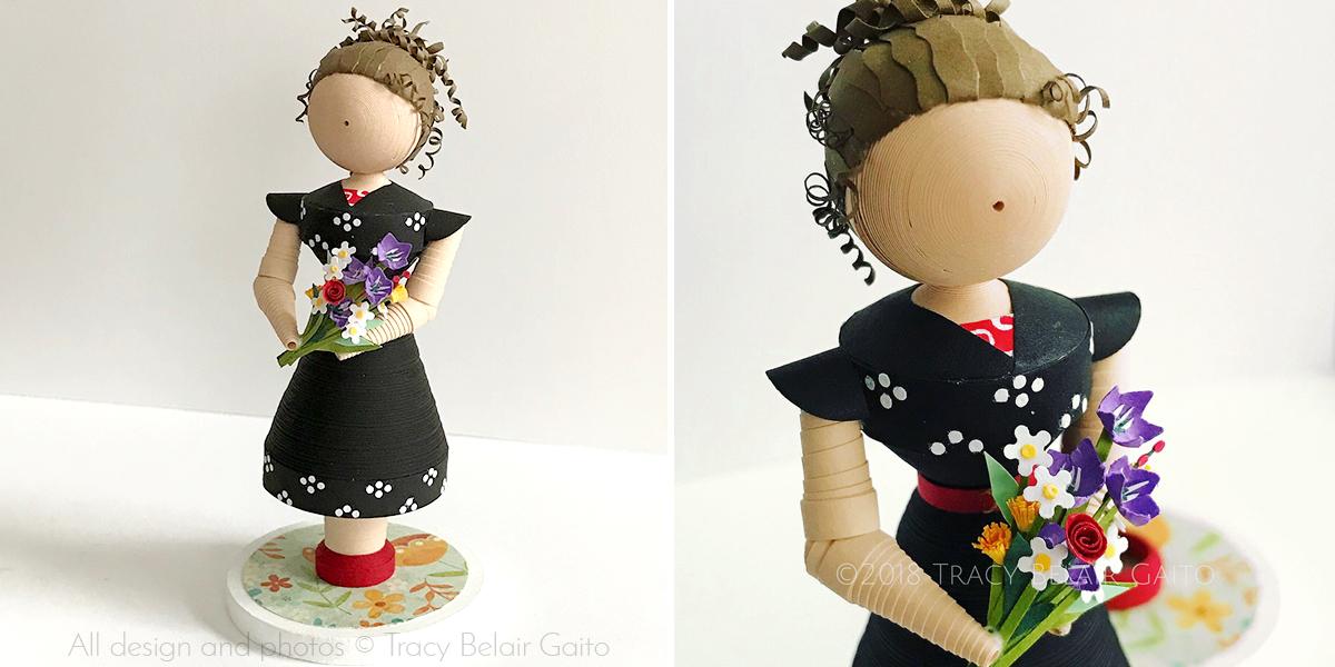 Single figurine custom ordered as gift