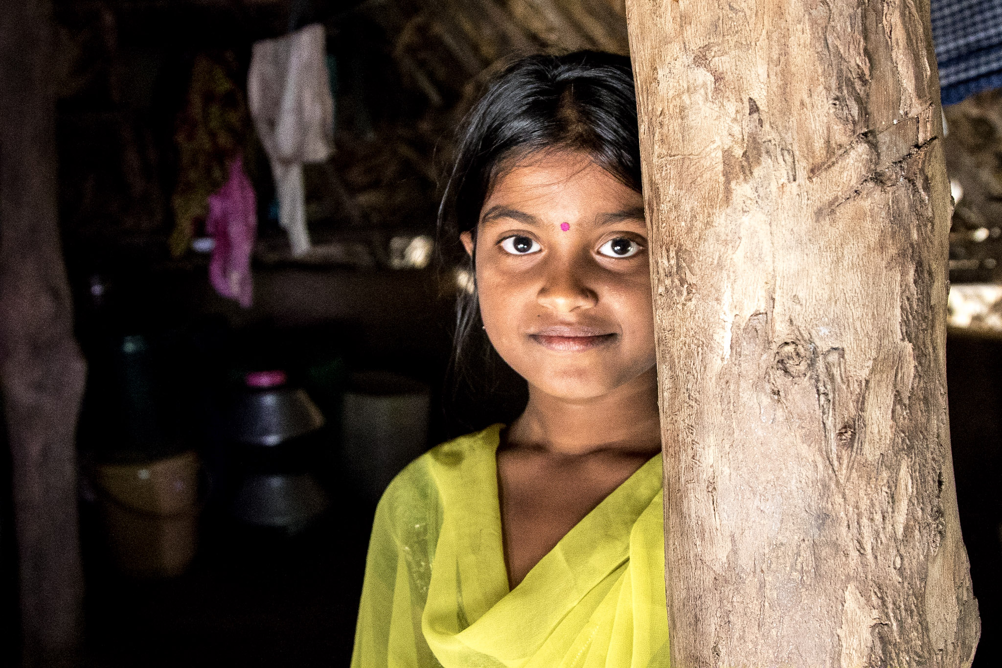 The issue disproportionately affects girls like Meena.