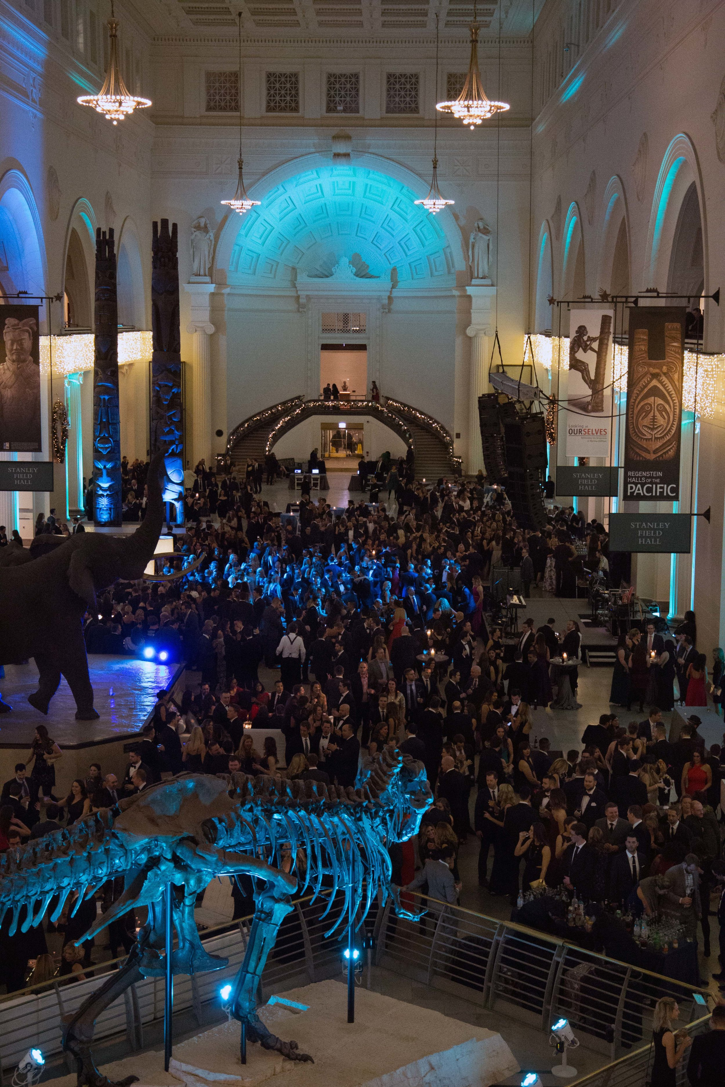 Holiday Party at The Field Museum in Chicago