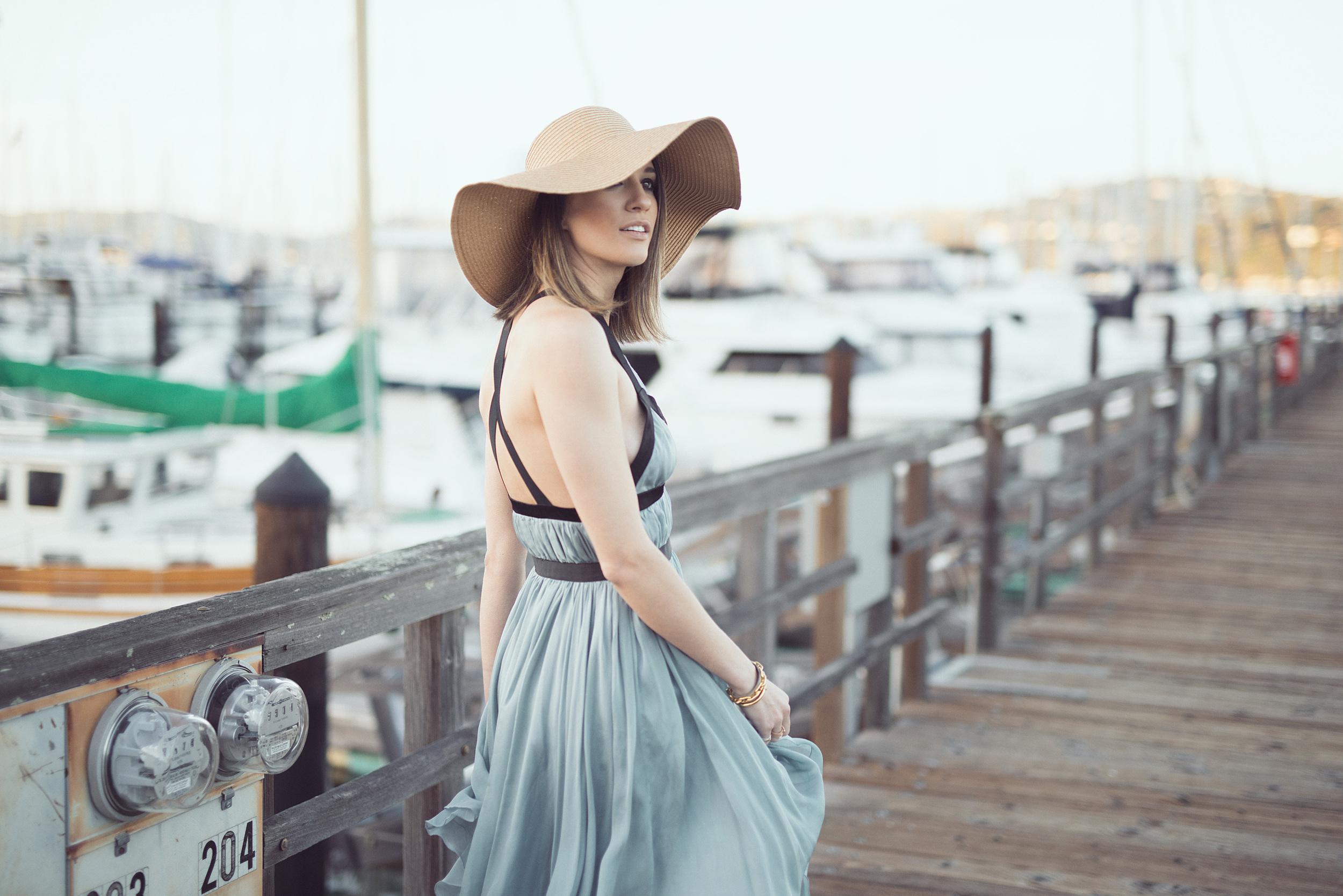 blue-dress-san-francisco-beach-travel