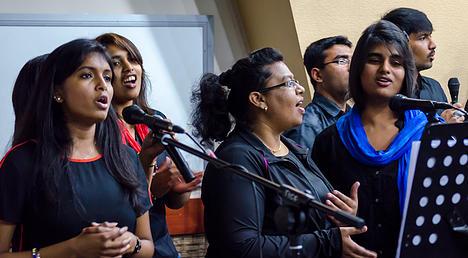 worship in Tbilisi, Georgia at TICF