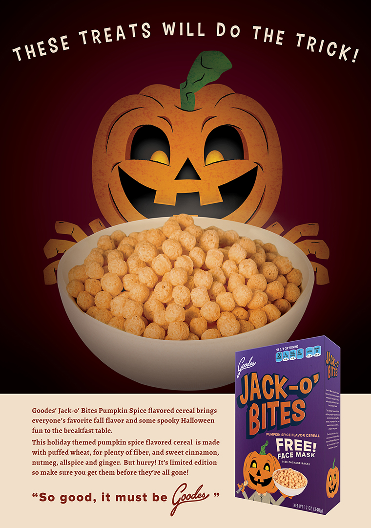 Kid's Cereal Ad Concept 1