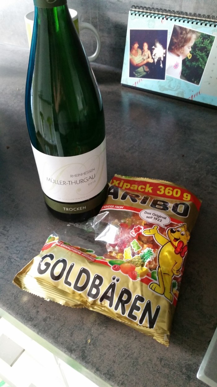 My time in Germany, summarized: wine and gummy bears