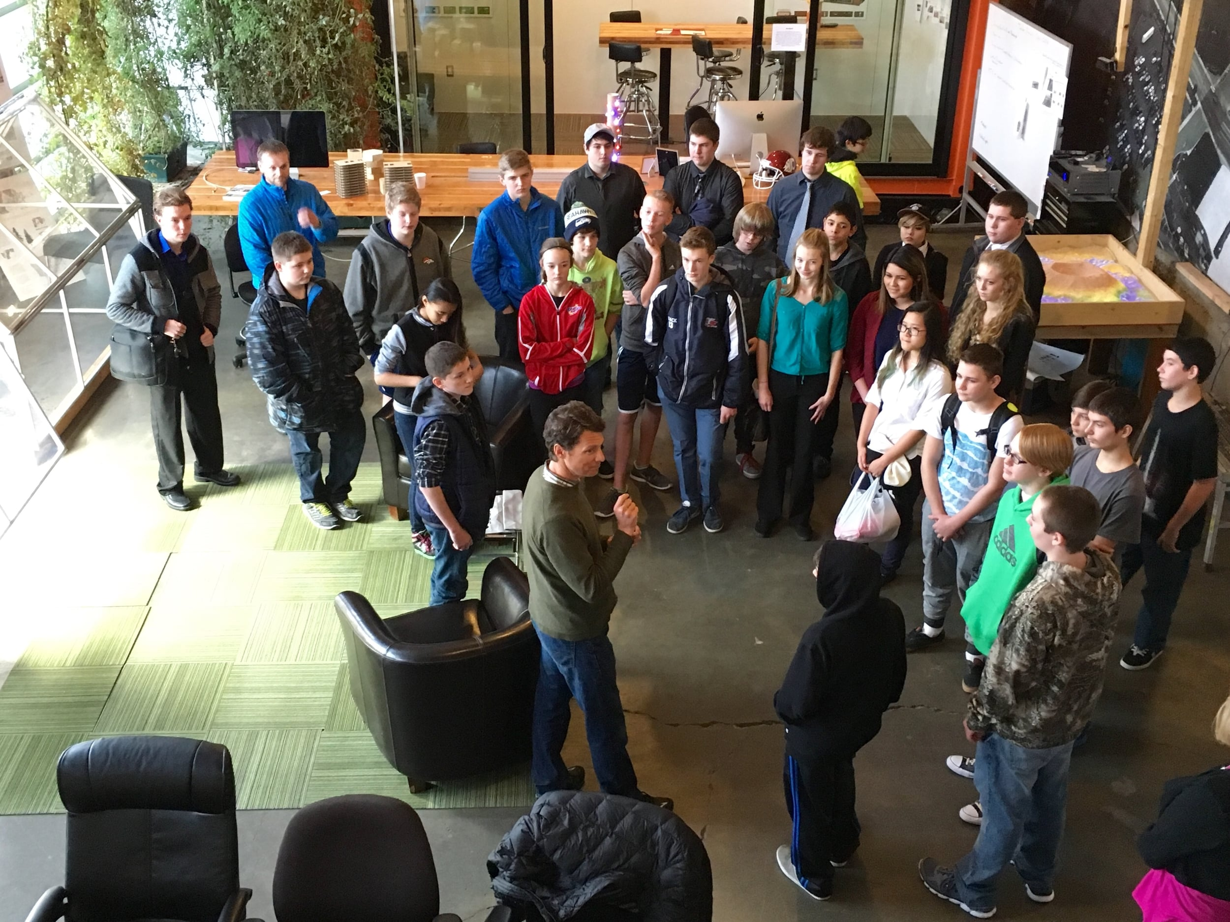 East Valley Students Tour Toolbox