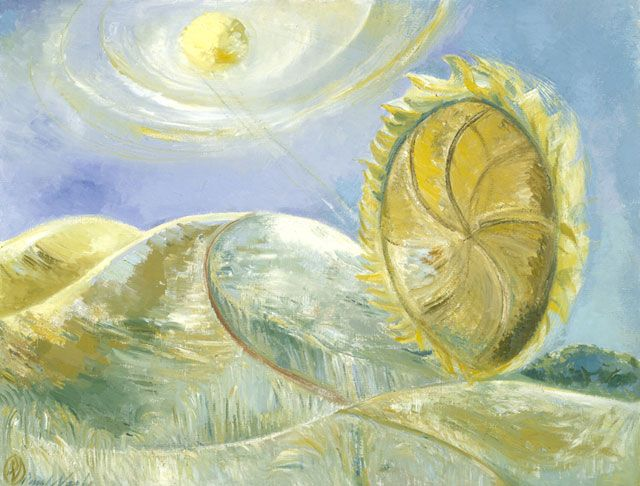 Solstice of the sunflower, Paul Nash