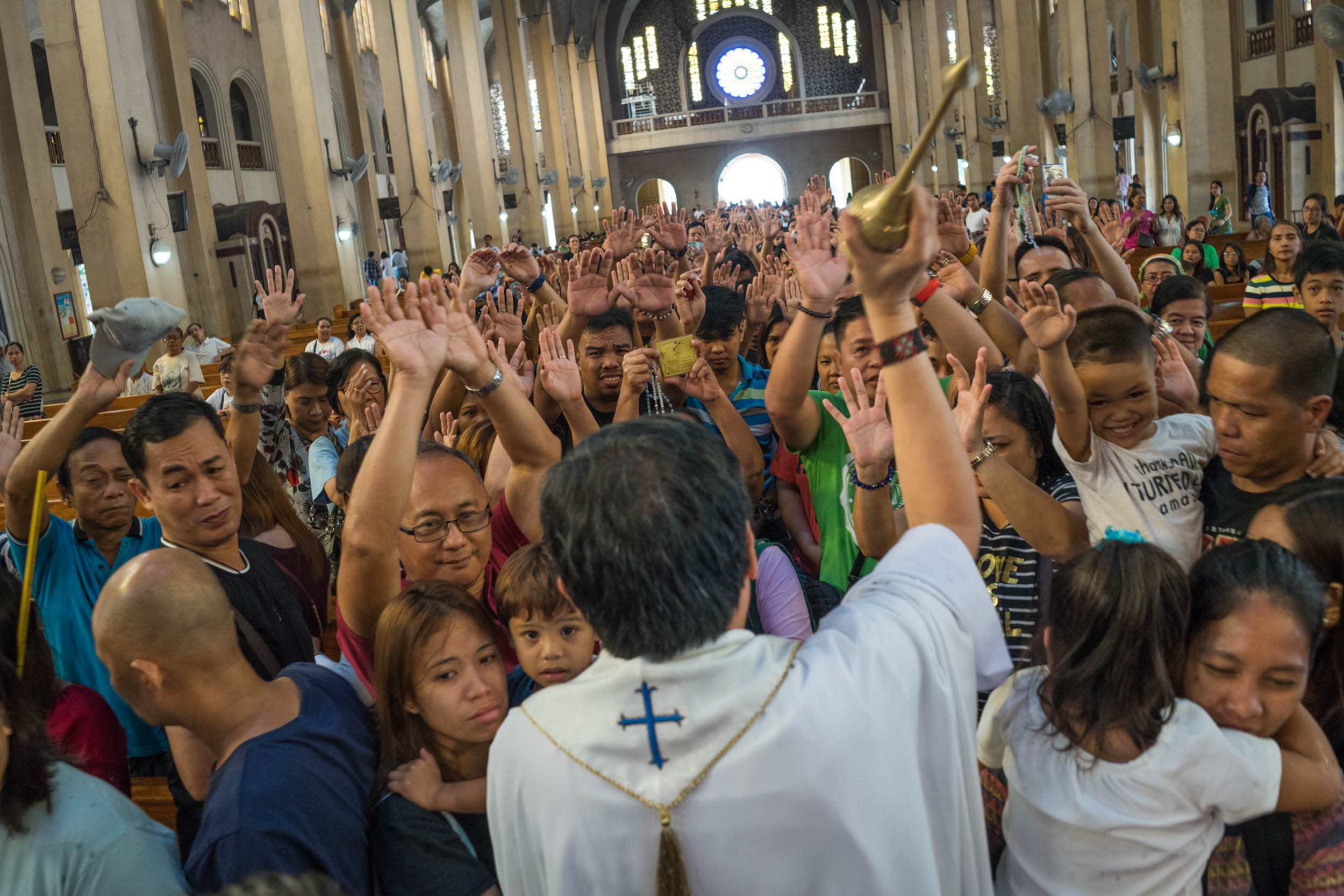 The National Shrine of Our Mother of Perpetual Help, in Baclaran, Manila, ministers to overseas Filipino
