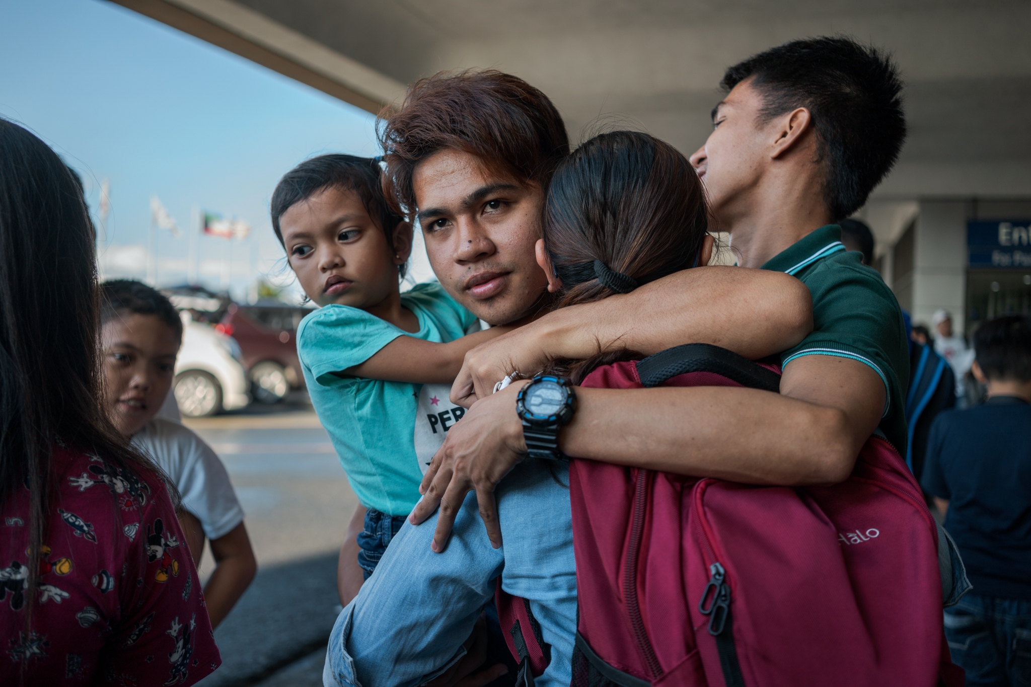 Most Filipino workersÕ journeys begin at ManilaÕs airport, with tearful goodbyes, uncertainty, and hope.
