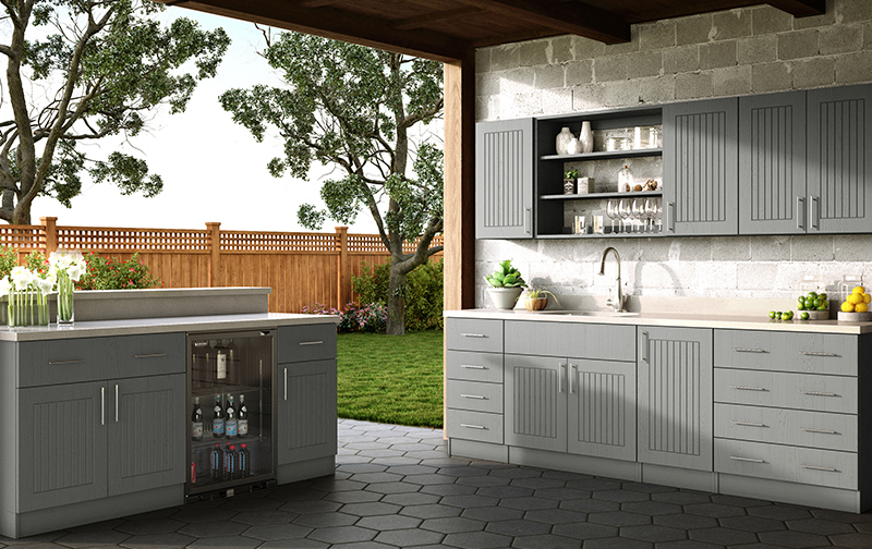 Weatherstrong Outdoor Cabinetry Fournier Custom Designs Inc