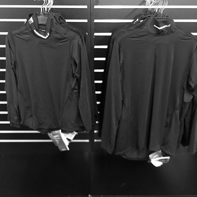 Tired of that old neck guard ? Come in and try one of these high tech shirts with a built in neck guard #nhl #thehockeyshopny #hockeyequipment