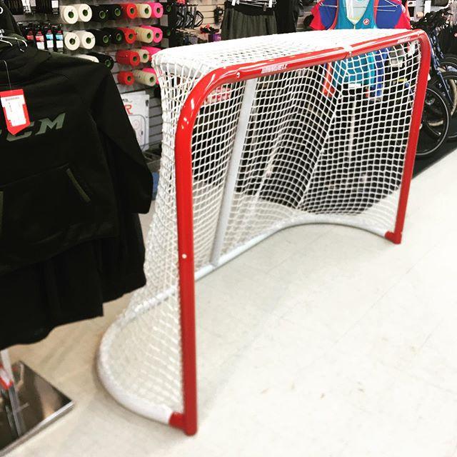 New season=New Shot In stock now full size goals  #ccmhockey #bauer #nhl #thehockeyshopny