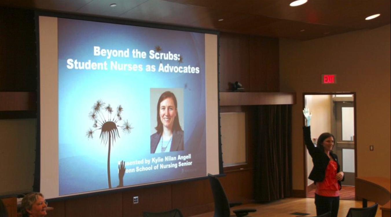Beyond the Scrubs: Student Nurses as Advocates