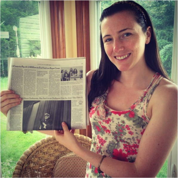 Holding the NY Times Article